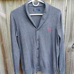 Fred Perry Long Sleeve Cardigan
